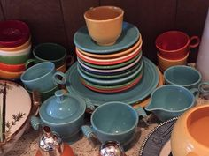 Found on EstateSales.NET: Misc. lots of Fiesta ware