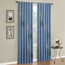 Clearance Bloom Window Panel - $19.99 - bed bath and beyond