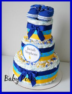 Ralph Lauren Polo Sport baby shower  Diaper cake  https://www.etsy.com/shop/MsPerks