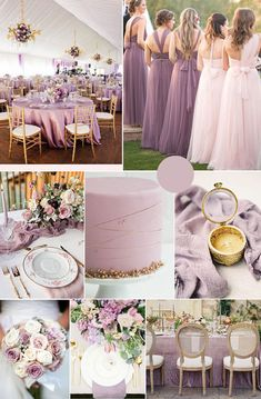 pinky mauve purple and glitter gold wedding color combos pinky lila lila und Glittergoldhochzeits-Farbkombinationen Wedding Colors Purple And Gold Wedding, Gold Wedding Colors, Mauve Wedding, Gold Wedding Theme, Summer Wedding Colors, Wedding Day, Spring Wedding, Khaki Wedding, Dream Wedding