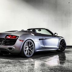 Love this Matte Grey Audi R8