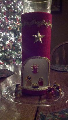 Pringles Can Nativity Scene, 2011