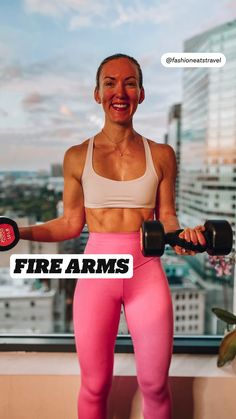 FIRE ARMS WORKOUT