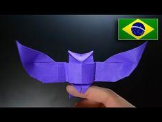 Origami: Coruja ( Riccardo Foschi ) - Instruções em Português PT-BR - YouTube