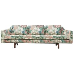 For Sale on - Edward Wormley for Dunbar, sofa fabric and mahogany, United States, A very elegant three-seat sofa by Edward Wormley. The sofa has a Georgian Furniture, Edward Wormley, Buy Sofa, Sofa Shop, Modern Sofa, Modern Chairs, Vintage Sofa, Furniture Manufacturers, Modern Materials