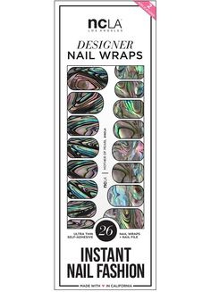 Mother of Pearl Nail Wraps