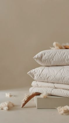 Von Natur aus leichtgewichtig, langlebig und vor allem wunderbar weich ist Kapok das perfekte Füllmaterial für Bettdecken und Kopfkissen. // This lightweight, long-lasting and completely natural fibre provides perfect padding in duvets and pillows. Photo Ideas, Bedding, Photoshoot, Design, Bed Covers, Nature, Shots Ideas, Photo Shoot, Bed Linens