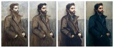 Aaron Westerberg. How to paint an oil portrait.