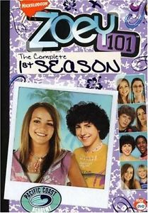 Zoey 101 Complete Season 1 2 3 4 DVD Set Series TV Show Collection Nickelodeon R