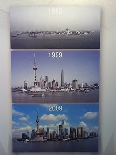Shanghai development - we have seen so much in the last few years, this puts it all in context