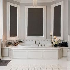 Transitional (Eclectic) Bathroom by Vanessa DeLeon