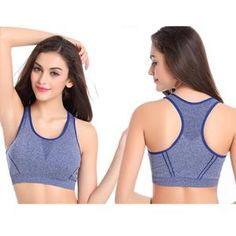 8aca2de2ba Women Fitness Yoga Sports Bra For Running Gym Padded Underwear Push Up Bras  Women s Sports Bras