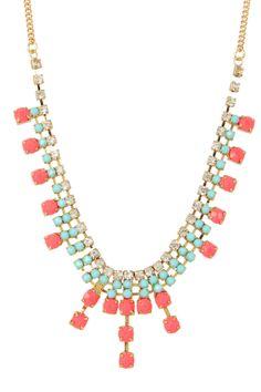 Neon Drop Necklace