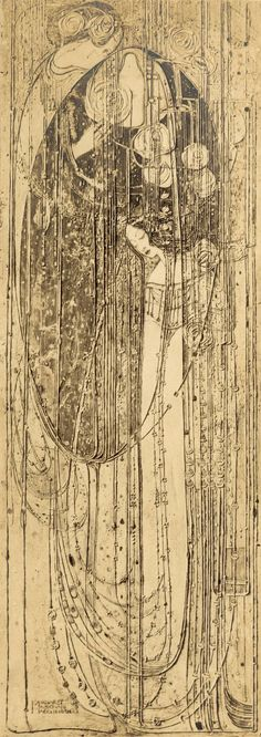 Margaret Macdonald Mackintosh. O ye that walk in willow wood.