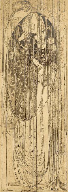 Margaret Macdonald Mackintosh, O ye that walk in willow wood