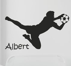 #football #namesticker #Decoration #Tenstickers #Wallstickers #Stickers #Personalised Stickers