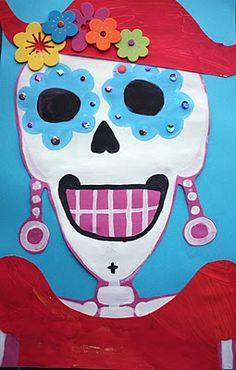 a new take on my sugar skulls this year?