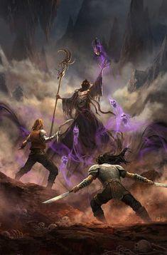 Dark Fantasy Art, Fantasy Concept Art, High Fantasy, Fantasy Rpg, Medieval Fantasy, Fantasy Artwork, Fantasy World, Dark Art, Fantasy Fiction