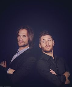 I love this pic of them! ATTENTION: I'm dividing up my SPN boards into a bunch of smaller boards today and for the next few days. If you like what you see, it might be moving! Too many pins!!!!