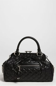 MARC JACOBS 'Quilting Stam' Leather Satchel  This style has been out for years, and I can see why it's still around!