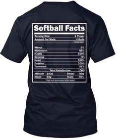 "Discover Limited Edition Basketball Facts T-Shirt, a custom product made just for you by Teespring. - This LIMITED EDITION ""Basketball Facts"" t-shirt. Softball Memes, Softball Workouts, Softball Drills, Softball Crafts, Girls Softball, Softball Players, Fastpitch Softball, Softball Stuff, Softball Cheers"