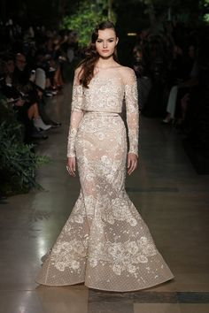ELIE SAAB Haute Couture Spring Summer 2015 | Runway