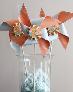 Pinwheel party favors?