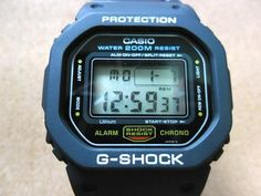 Vintage Casio G-Shock DW-5600c Classic Gold Button by unclewatch