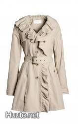Beige trench coat / Beige trenssi
