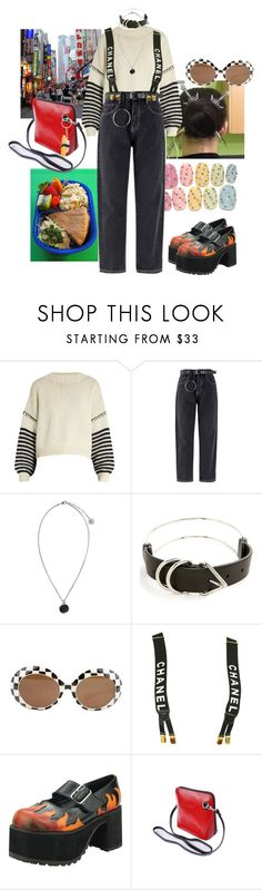 """i love bento"" by syarina ❤ liked on Polyvore featuring Tt Collection, Sportmax, Versus, Alexander Wang, Chanel and T.U.K."