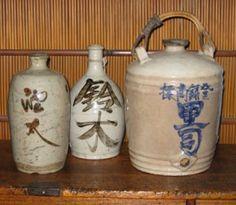 Sake jugs