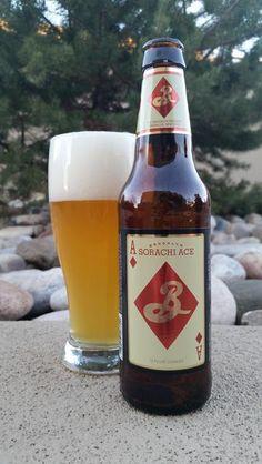 Great beer I tried last night.  Brooklyn Sorachi Ace. Saison/farmhouse ale 7.2% ABV