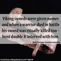 Viking Sword Named