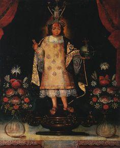 Salvator Mundi (Savior of the World) in Incan Costume, Cuzco School, 18th Century