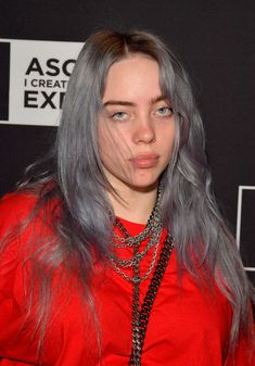 "Singer/Songwriter Billie Eilish attends the 'Billie Eilish and Finneas O'Connell in Conversation' panel at The 2018 ASCAP ""I Create Music"" EXPO at Loews Hollywood Hotel on May 2018 in Hollywood,. Get premium, high resolution news photos at Getty Images Billie Eilish, Hollywood Hotel, Hollywood California, Dibujos Cute, Queen, Me As A Girlfriend, Blue Hair, Grey Hair, My Girl"