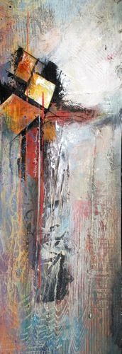 """Time Spent I"" 10x30 Price on Request Photo Sculpture, Pallet Patio, Impressionism, Painting Prints, Mixed Media Art, Collage Art, Creative Art, Abstract Art, Painting Abstract"