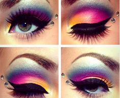 ‎#3 Top Looks of the Week: Jessica's bold and colorful Lisa Frank Inspired makeup had you voting 'Would' in the hundreds! Take a closer look at the amazing products that made this stunner possible: http://www.preen.me/look/1424616