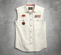 Take retro style to a new level. | Harley-Davidson Men's SYN3 Blowout