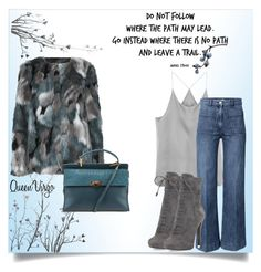 """Leave A Trail"" by queenvirgo on Polyvore featuring Balenciaga, H&M and Prada"