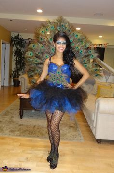 This homemade costume for women entered our 2014 Halloween Costume Contest.