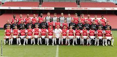 Arsenal Soccer Club. Mark my words. I WILL take Ammon to a game before we're old.