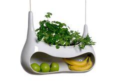 Minimalism, osynlig belysning, odlingar och köksutrustning som liknar konstverk