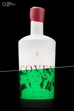 the product naming, branding, and packaging design for Coven, a vodka from Arbutus Distillery, Vancouver Island's newest craft distillery. Wine Packaging, Label Design, Package Design, Wine And Spirits, Brewing Co, Coven, Bottle Design, Packaging Design Inspiration, Distillery