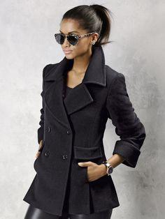 829662e4cd09e4 Edle ALBA MODA Jacke mit Kaschmir-Anteil in softer Qualität und mit  aufgesetzten Taschen ❤