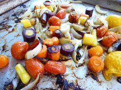 Perfect roasted summer veggies for zucchini linguine primavera
