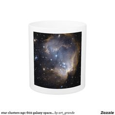 star clusters ngc 602 galaxy space universe coffee mug