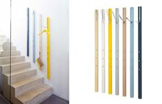 The Line Coatrack Has No Footprint and Promises to Declutter Your Home #clothing #storage trendhunter.com