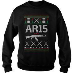 Ar 15 Ugly Christmas Sweater, Hoodie and Shirt