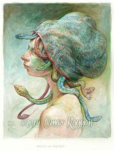 Medusa in a Hairnet - Omar Rayyan