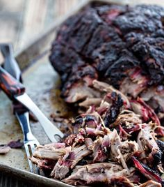 Pulled Pork Rub, Smoked Pulled Pork, Smoked Pork Shoulder, Pork Shoulder Recipes, Cocktail Book, Best Dinner Recipes, The Best, Bbq, Good Food